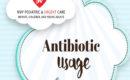 Antibiotic usage.