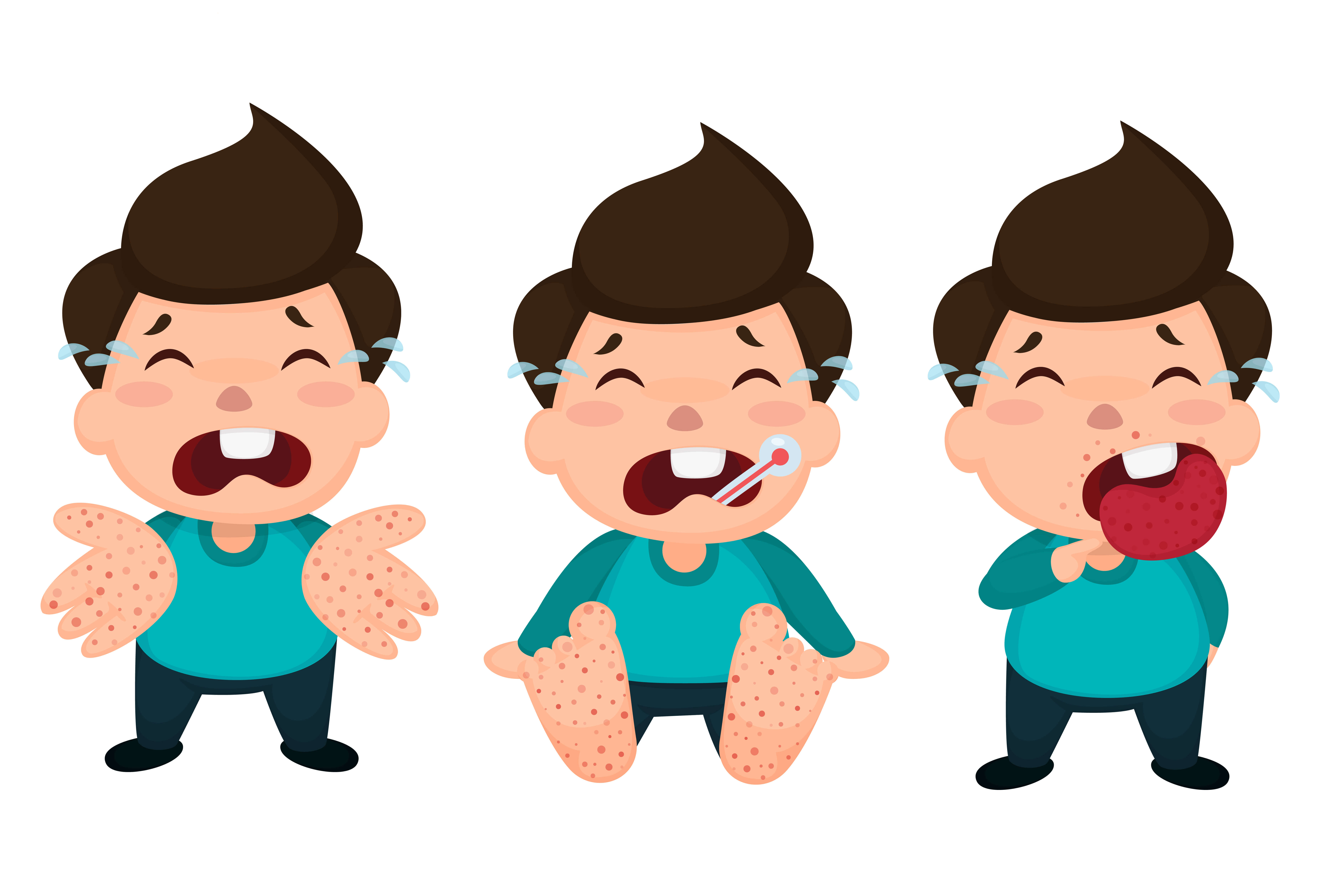 hand foot mouth disease symptoms