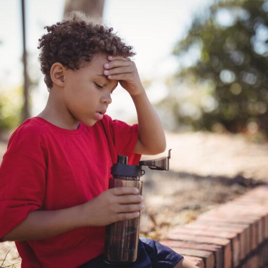 Dehydration in children
